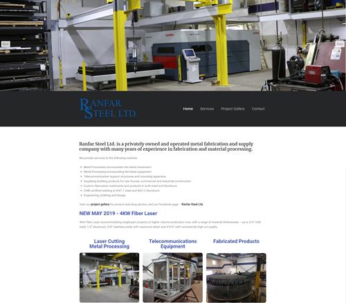 Ranfar Steel Ltd - Courtice Ontario